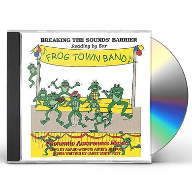 Jim Post FROG TOWN BAND CD