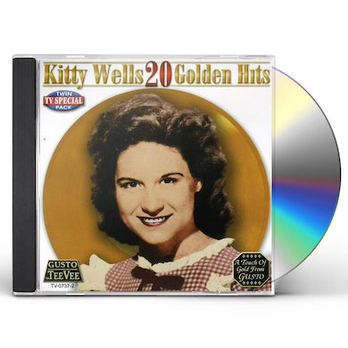 Kitty Wells 20 GOLDEN HITS CD