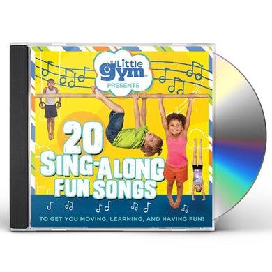 The Little Gym 20 Sing-Along Fun Songs CD