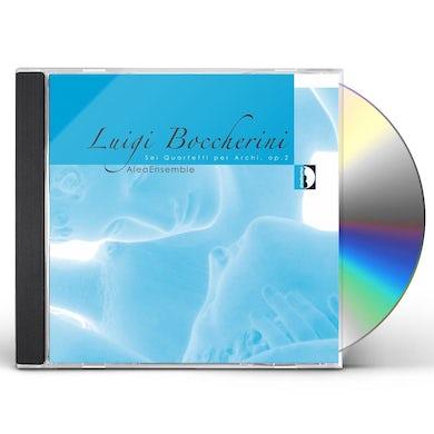 Boccherini STRING QUARTETS OP 2 CD