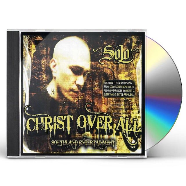 Solo CHRIST OVER ALL CD