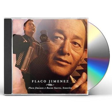 Flaco Jimenez BUENO SUERTE SENORITA CD
