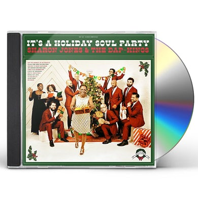 Sharon Jones IT'S A HOLIDAY SOUL PARTY CD