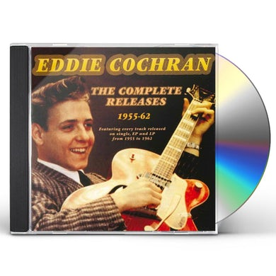Eddie Cochran COMPLETE RELEASES 1955-62 CD
