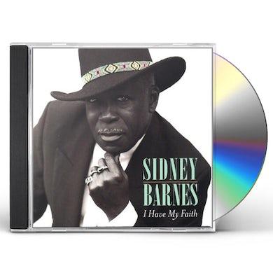 Sidney Barnes I HAVE MY FAITH CD