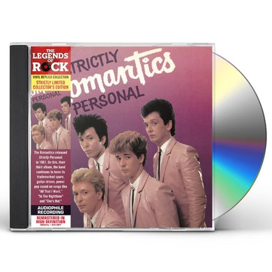 Romantics STRICTLY PERSONAL CD