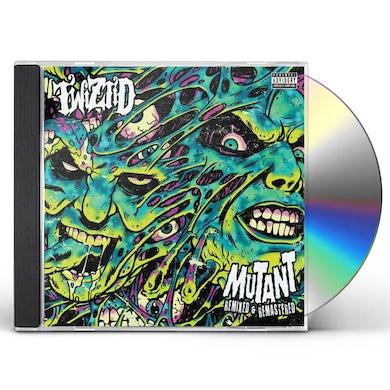 Twiztid MUTANT REMIXED & REMASTERED CD