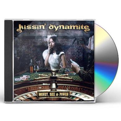 Kissin Dynamite MONEY SEX & POWER CD
