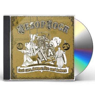 Aesop Rock FAST CARS, DANGER, FIRE & KNIVES CD