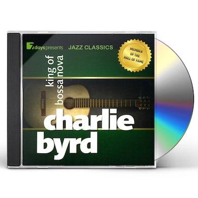 Charlie Byrd KING OF BOSSA NOVA CD