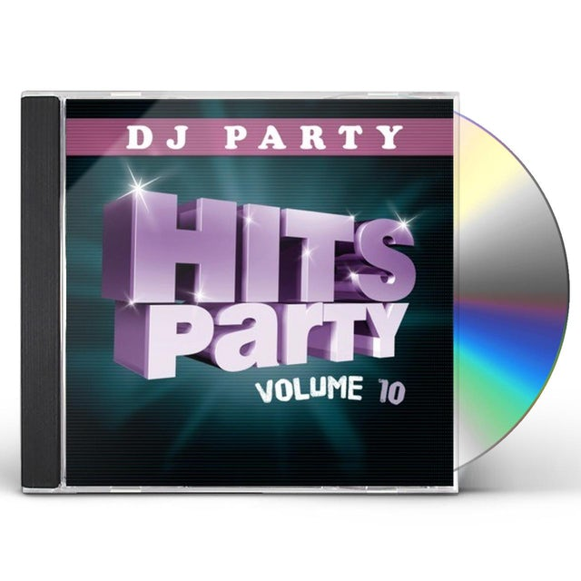 DJ Party HITS PARTY VOL. 10 CD