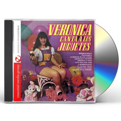 Veronica CANTA A LOS JUGUETES CD