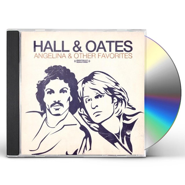 Hall & Oates ANGELINA & OTHER FAVORITES CD