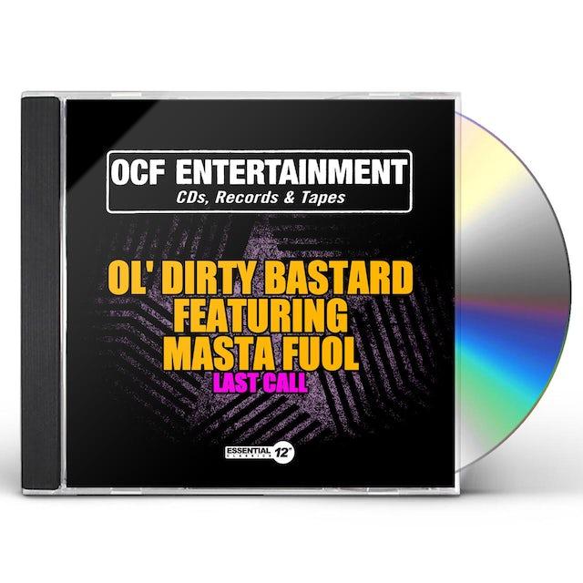Ol Dirty Bastard LAST CALL CD