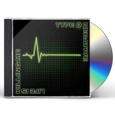 Type O Negative LIFE IS KILLING ME CD