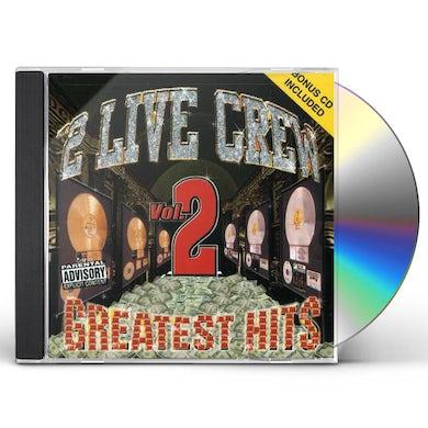 2 Live Crew GREATEST HITS 2 (+ BONUS CD) CD