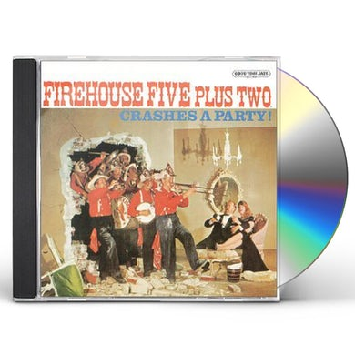 Firehouse Five Plus Two CRASHES A PARTY CD