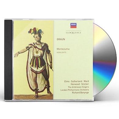 Richard Bonynge GRAUN: MONTEZUMA CD