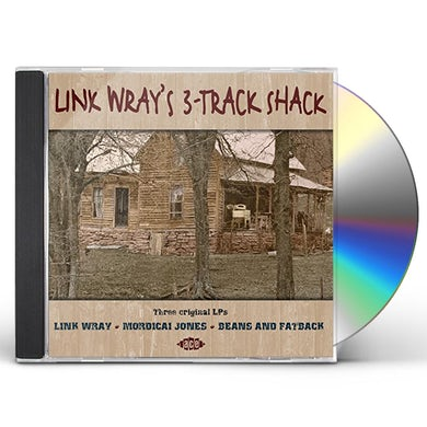 LINK WRAY'S 3-TRACK SHACK CD