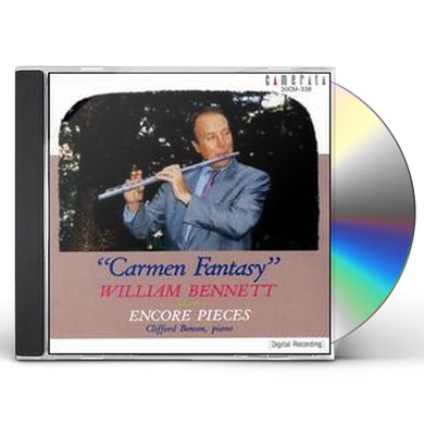 William Bennett PLAYS FLUTE ENCORES CD