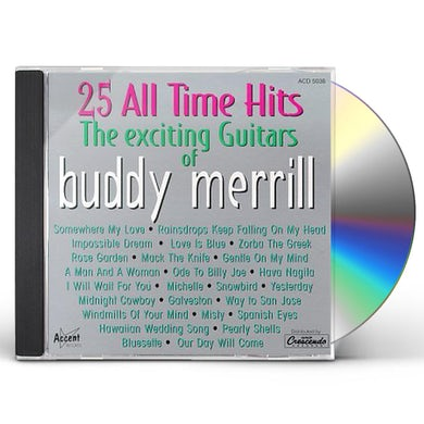 Buddy Merrill EXCITING GUITARS CD