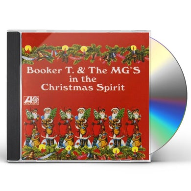 Booker T. & the M.G.'s IN THE CHRISTMAS SPIRIT CD