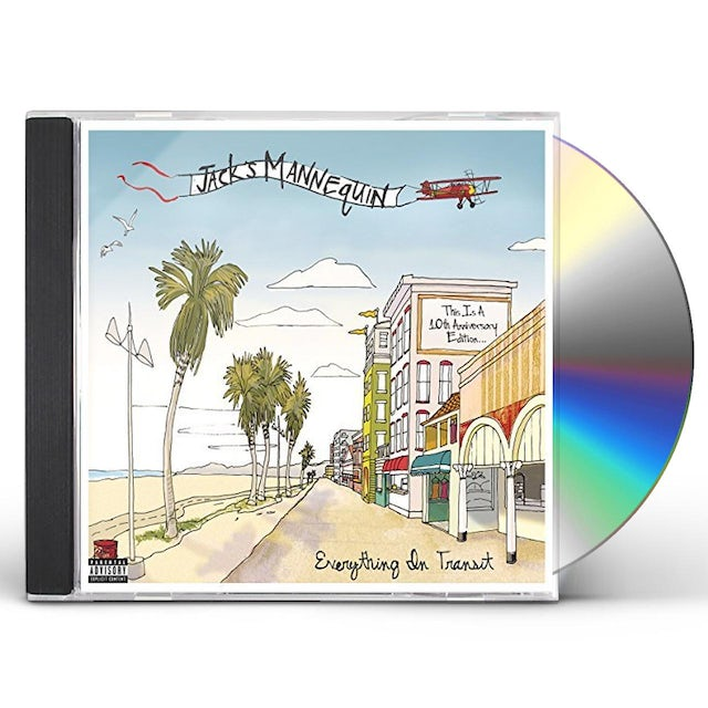 Jack's Mannequin EVERYTHING IN TRANSIT (10TH ANNIVERSARY EDITION) CD