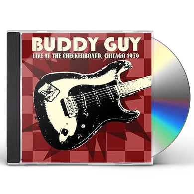 Buddy Guy LIVE AT THE CHECKERBOARD LOUNGE 1979 CD