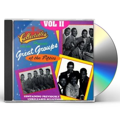 Great Groups Of The 50'S 2 / Various CD