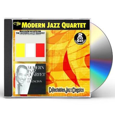 The Modern Jazz Quartet THREE WINDOWS / FOR ELLINGTON CD