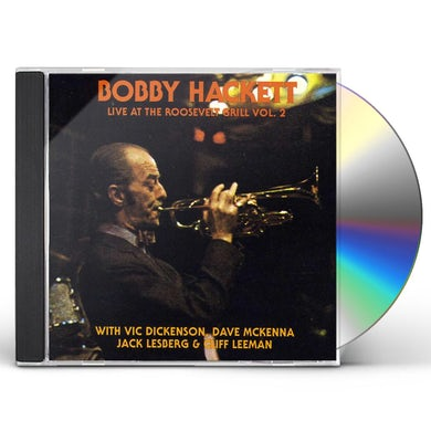 Bobby Hackett LIVE AT THE ROOSEVELT GRILL 2 CD