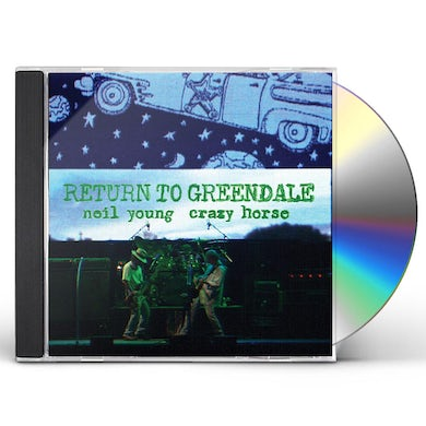 Neil Young & Crazy Horse RETURN TO GREENDALE CD