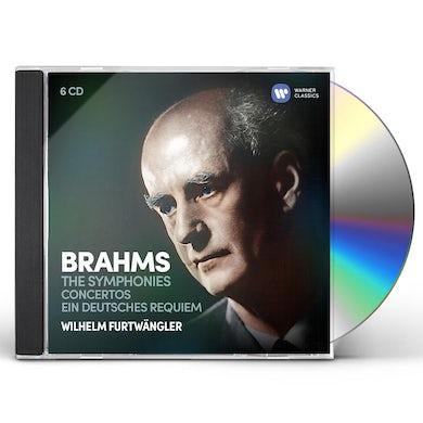 Wilhelm Furtwangler BRAHMS: THE SYMPHONIES, EIN DEUTSCHES REQUIEM CD