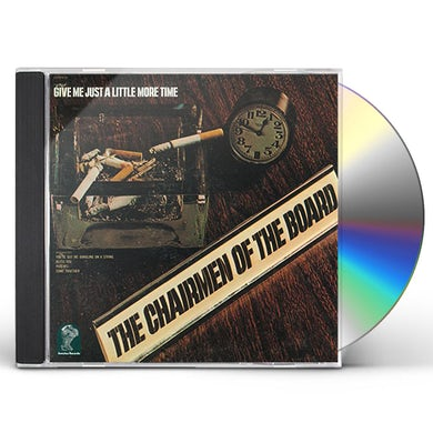 Chairmen Of The Board GIVE ME JUST A LITTLE TIME CD