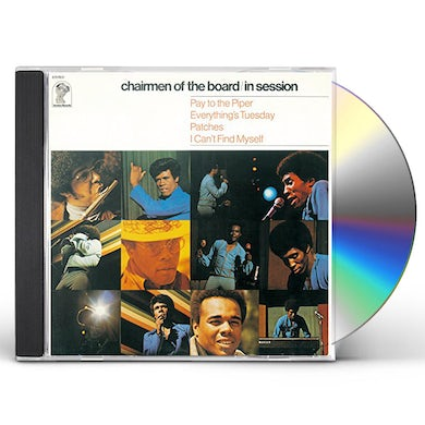 Chairmen Of The Board IN SESSION CD