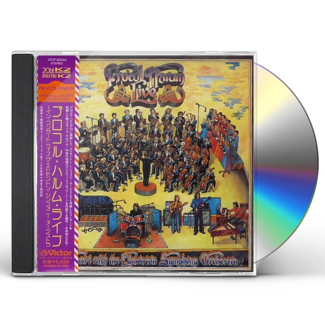 Procol Harum LIVE IN CONCERT WITH THE EDMONTON SYMPHONY ORCHEST CD