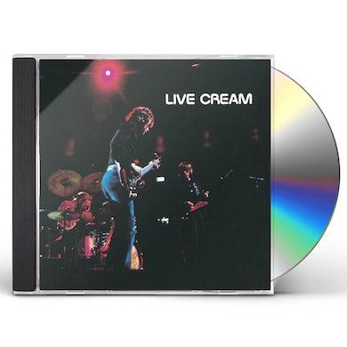 LIVE CREAM CD