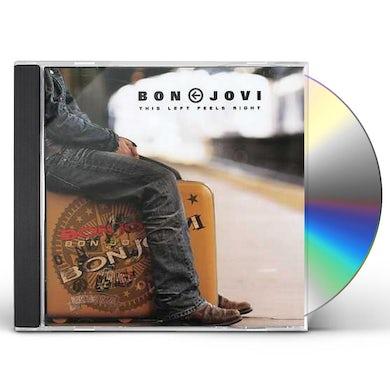 Bon Jovi THIS LEFT FEELS RIGHT CD