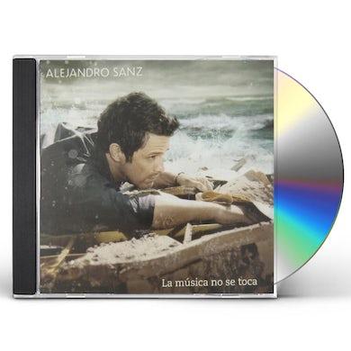 Alejandro Sanz LA MUSICA NO SE TOCA (PORTUGUESE EDITION) CD