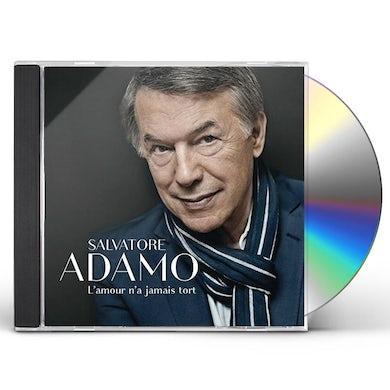 Salvatore Adamo L'AMOUR N'A JAMAIS TORT CD