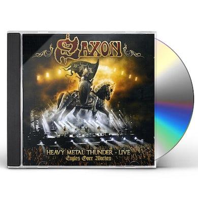 Saxon HEAVY METAL THUNDER: LIVE CD