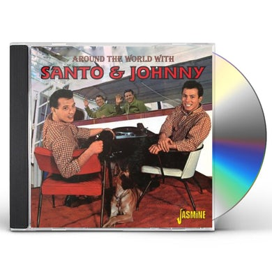 Santo & Johnny AROUND THE WORLD WITH CD