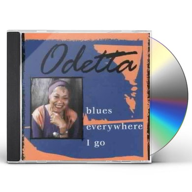 Odetta BLUES EVERYWHERE I GO CD