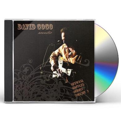 David Gogo ACOUSTIC: OFFICIAL BOOTLEG 2 CD
