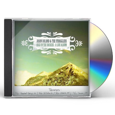 Jason Boland HIGH IN THE ROCKIES CD