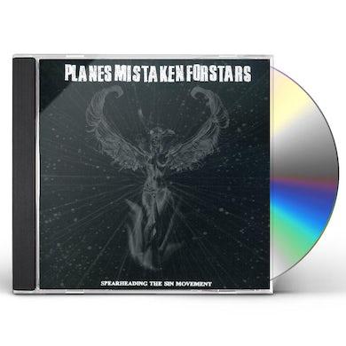 Planes Mistaken for Stars SPEARHEADING THE SIN MOVEMENT CD