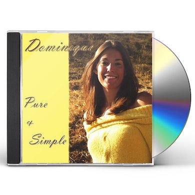 Dominique PURE & SIMPLE CD