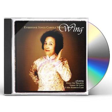 EVERYONE SINGS CAROLS WITH WING CD