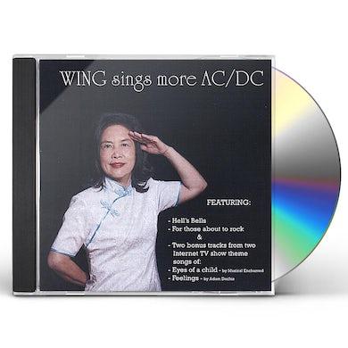 Wing SINGS MORE AC/DC CD