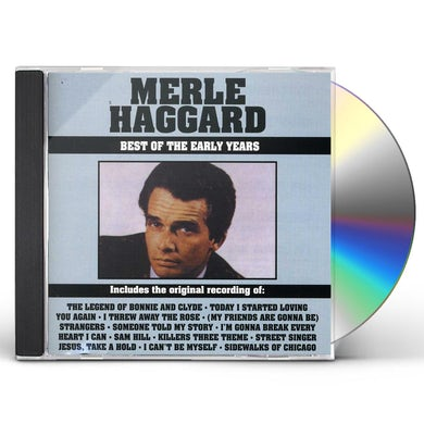 Merle Haggard BEST OF THE EARLY YEARS CD